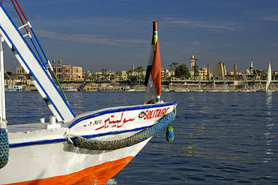Photograph - Felucca On The Nile by Michele Burgess