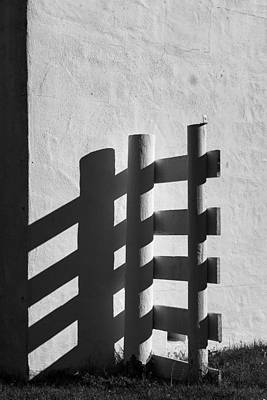 Photograph - Fence by Bud Simpson