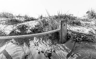 Photograph - Fence Post. by Gary Gillette