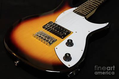 Photograph - Fender Guitar by Valerie Morrison