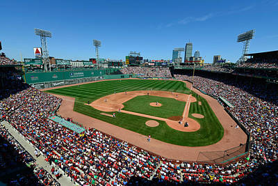 Fenway Park - Boston Red Sox Art Print by Mark Whitt