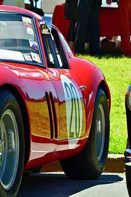 Photograph - Ferrari 250 Gto Detail by Dean Ferreira