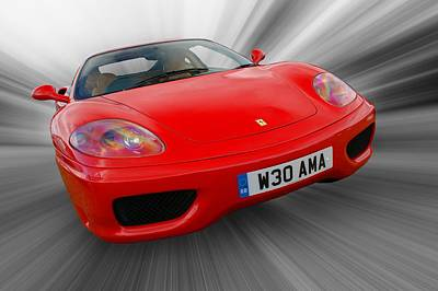Photograph - Ferrari 360 Modena by Chris Day