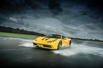 Photograph - Ferrari 458 Speciale by George Williams