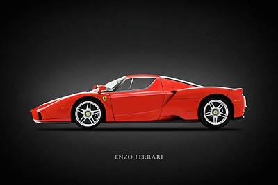 Ferrari Photograph - Ferrari Enzo by Mark Rogan