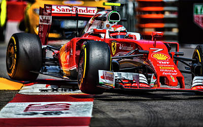 Sauber Photograph - Ferrari Formula 1 by Srdjan Petrovic