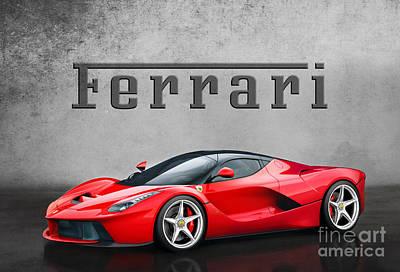 Ferrari La Ferrari Art Print