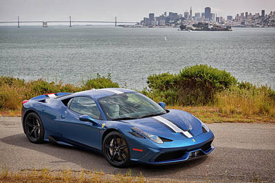 Photograph - #ferrari #speciale #print by ItzKirb Photography