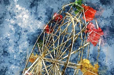 California Photograph - Ferris Wheel by Brandon Bourdages