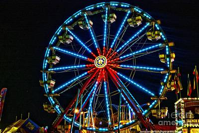 Photograph - Ferris Wheel by Janice Spivey