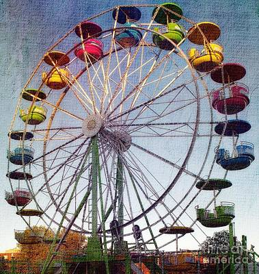 Photograph - Ferris Wheel  by Lilliana Mendez
