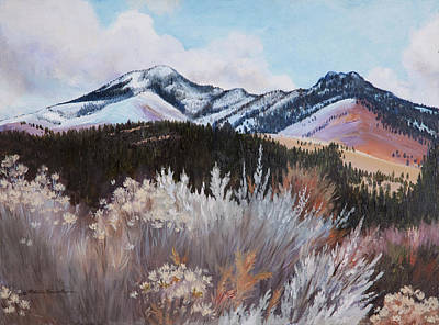Painting - Fields Peak by Patricia Baehr-Ross