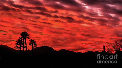 Photograph - Fiery Sunrise by Robert Bales