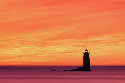 Photograph - Fiery Whaleback by Michael Blanchette
