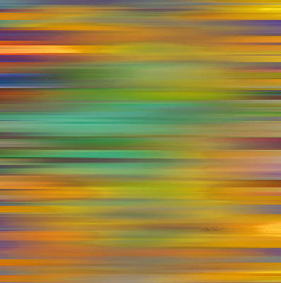 Digital Art - Fiesta - Abstract Art  by Ann Powell