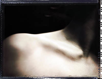 Polaroid Nude Photograph - Figure Study by Andy C