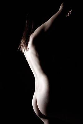 Photograph - Figure Study by Joe Kozlowski