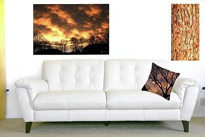 Photograph - Filigree Sunset by Nareeta Martin