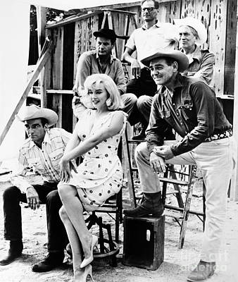 Marilyn Photograph - Film: The Misfits, 1961 by Granger