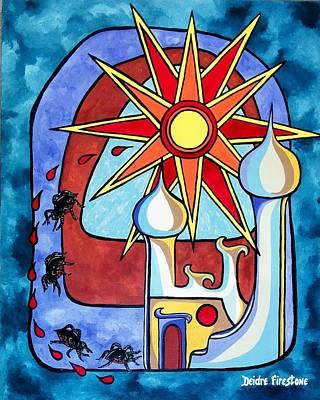 Spiritual Art Painting - Final Reign Of Power by Deidre Firestone