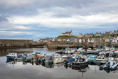 Cullen Wall Art - Photograph - Findochty - Scotland by Joana Kruse
