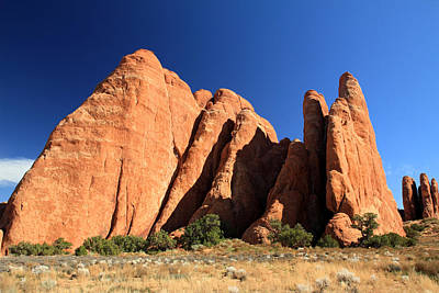 Photograph - Fins In Arches National Park by Pierre Leclerc Photography