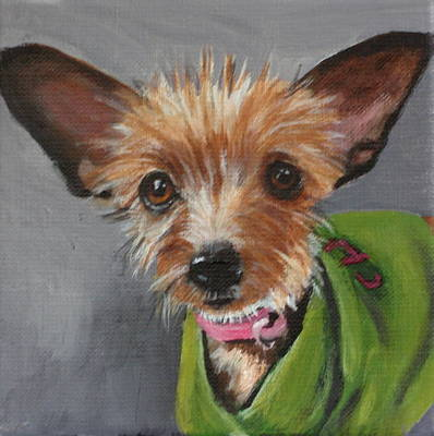 Painting - Fiona by Carol Russell