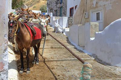 Cyclades Photograph - Fira - Santorini by Joana Kruse