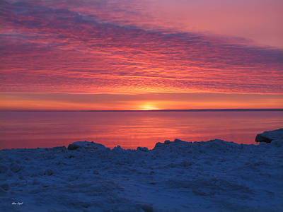 Duluth Photograph - Fire And Ice by Alison Gimpel