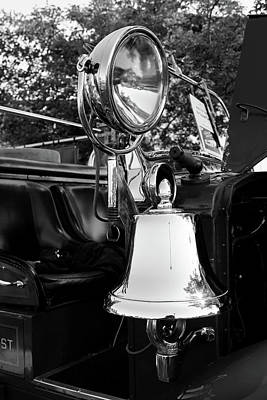 Photograph - Fire Truck Bell II by Michiale Schneider