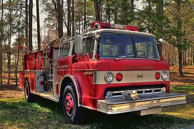 Fire Truck Hdr Original by Jason Blalock