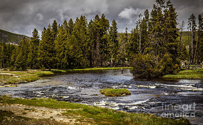 Photograph - Firehole River II by Robert Bales