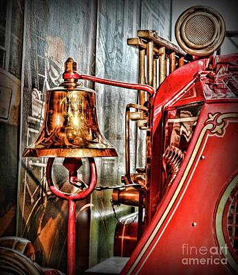 Fireman - The Fire Bell Art Print