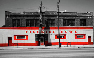 Photograph - Fireside Bowl by L O C