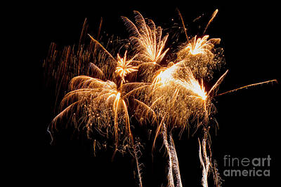Photograph - Firework Display by Jim Orr