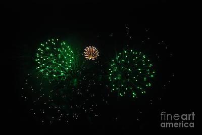 Photograph - Fireworks by Joe Cashin