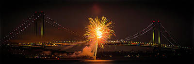 Photograph - Fireworks by Kenneth Cole