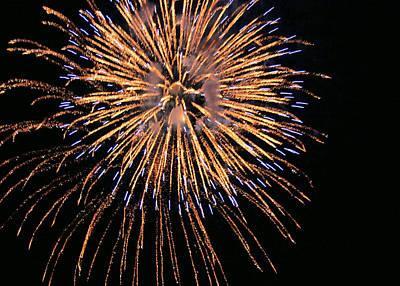 Photograph - Fireworks by Kristin Elmquist
