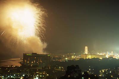 Fireworks - Ventura County Fair Art Print