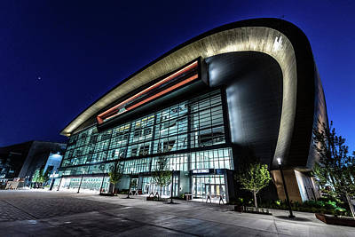 Photograph - Fiserv Forum by Randy Scherkenbach