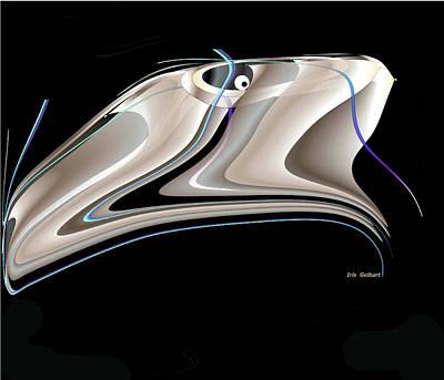 Digital Art - Fish by Iris Gelbart