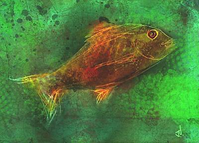 Painting - Fish by Jim Vance