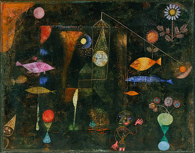 Painting - Fish Magic by Paul Klee