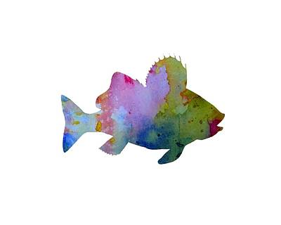 Water Themed Painting - Fish by Mordax Furittus