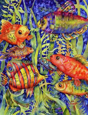 Painting - Fish Tales IIi by Ann Nicholson
