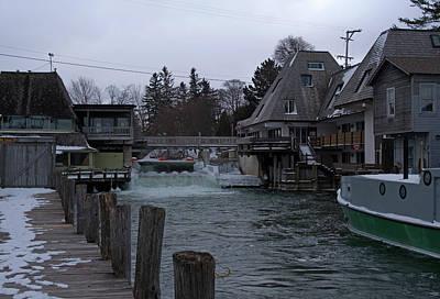 Claude Monet - Fish Town by Linda Kerkau