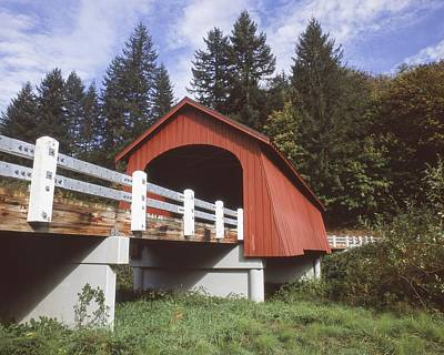 Photograph - Fisher Covered Bridge by HW Kateley