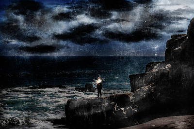 Luz Digital Art - Fisherman by Robert Barsby