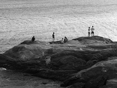 Photograph - Fishermen by Beto Machado