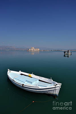 Photograph - Fishing Boats In Nafplio Town by George Atsametakis